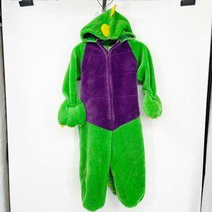 Vintage Batatt Dinosaur Heavy Weight Halloween Costume Kids Size 6/6x FLAW